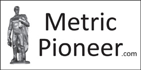 Metric Pioneer Bumper Sticker