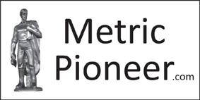 Metric Pioneer Bumper Sticker