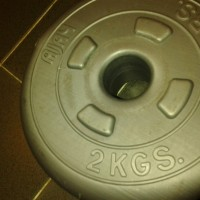Ajay 2 kg Dumbbell Weight Pair