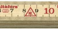 Folding Rule 59 - 1 Meter