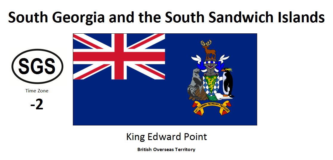 246 SGS South Georgia and the South Sandwich Islands [GBR]