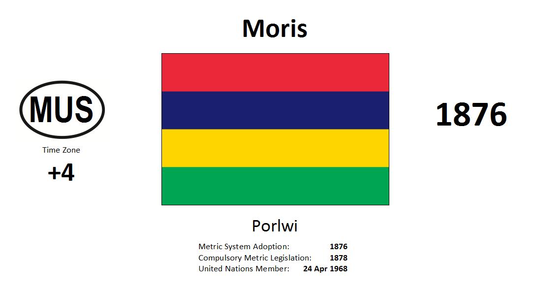 54 MUS Mauritius