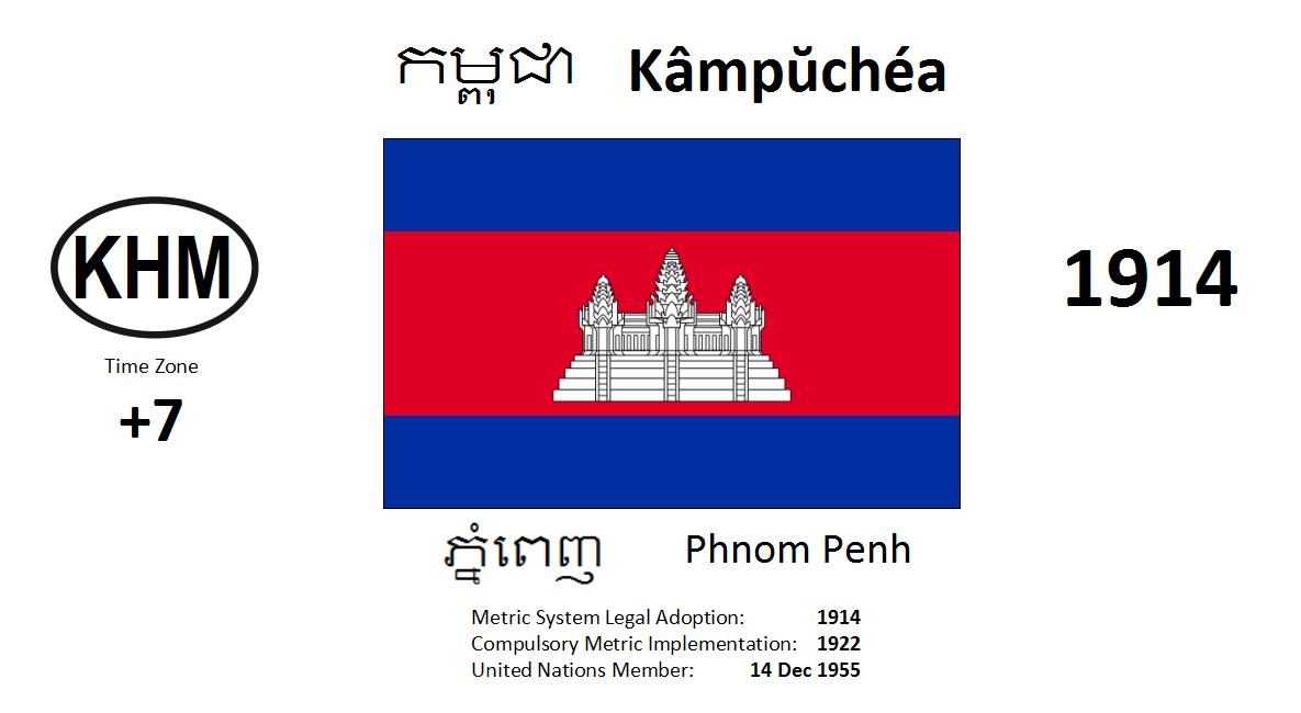 Flag 102 KHM Cambodia