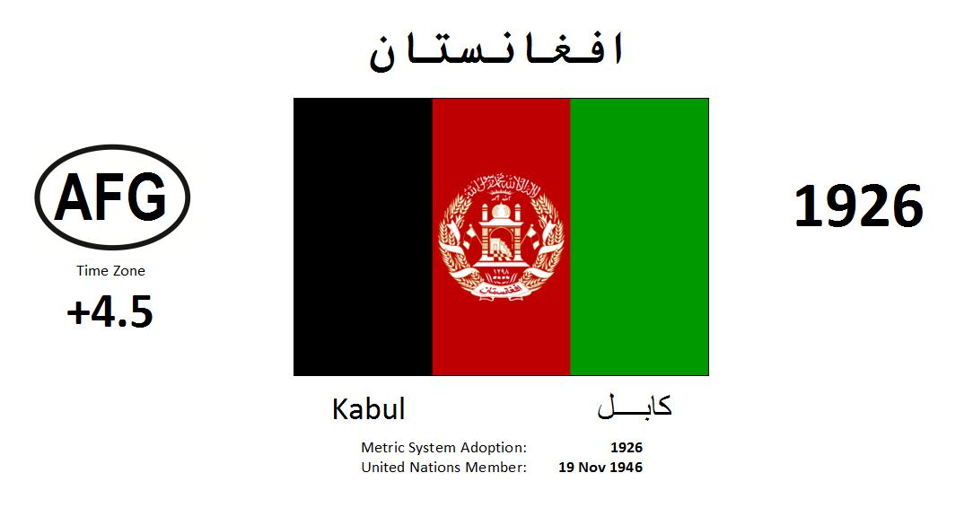 Flag 121 AFG Afghanistan