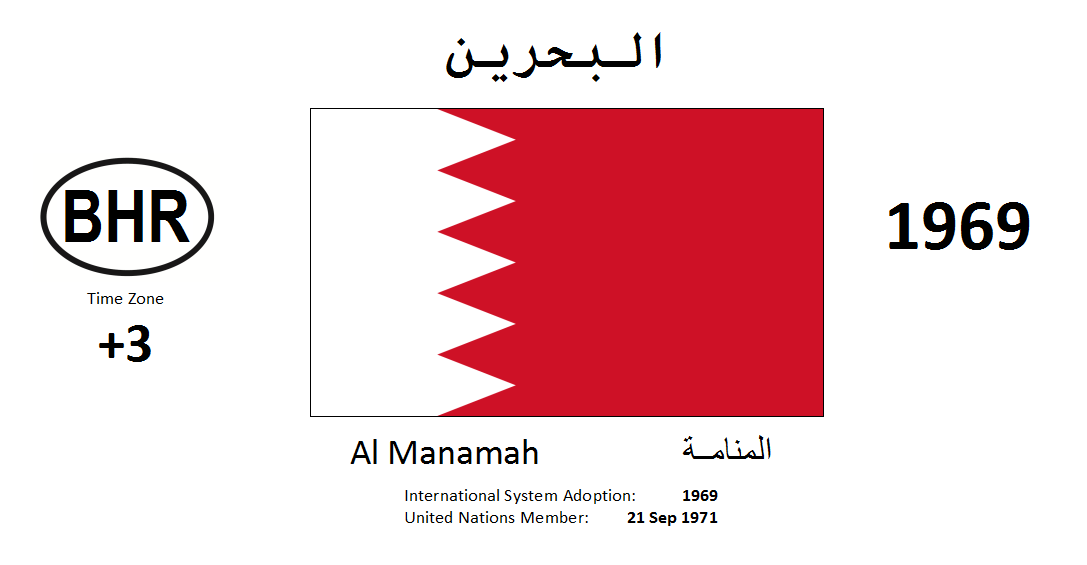 Flag 134 BHR Bahrain