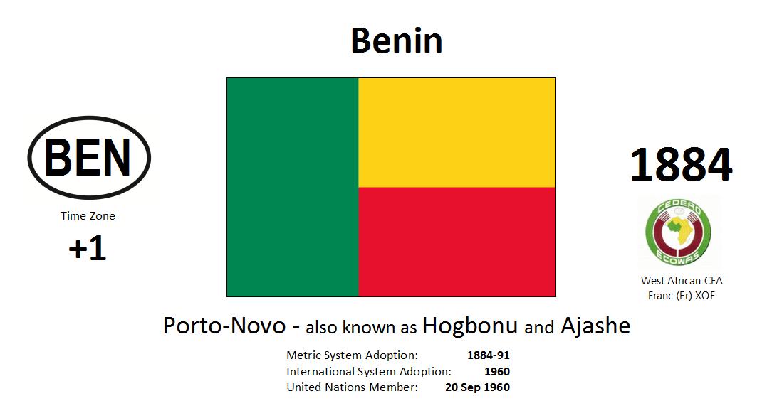 Flag 137 BEN Benin