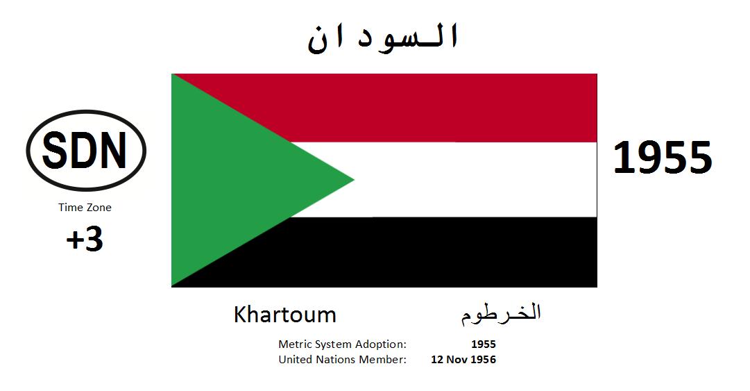 Flag 154 SDN Sudan