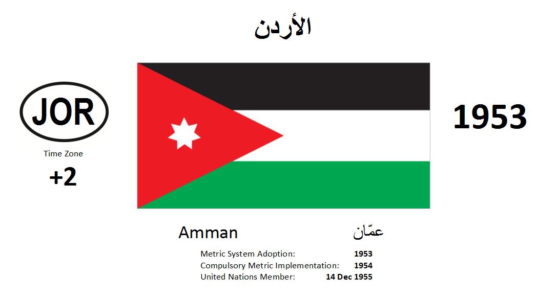 Flag 157 JOR Jordan