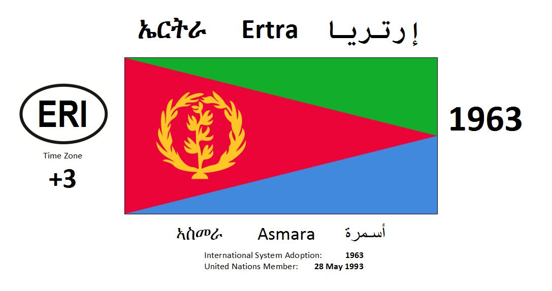 Flag 169 ERI Eritrea
