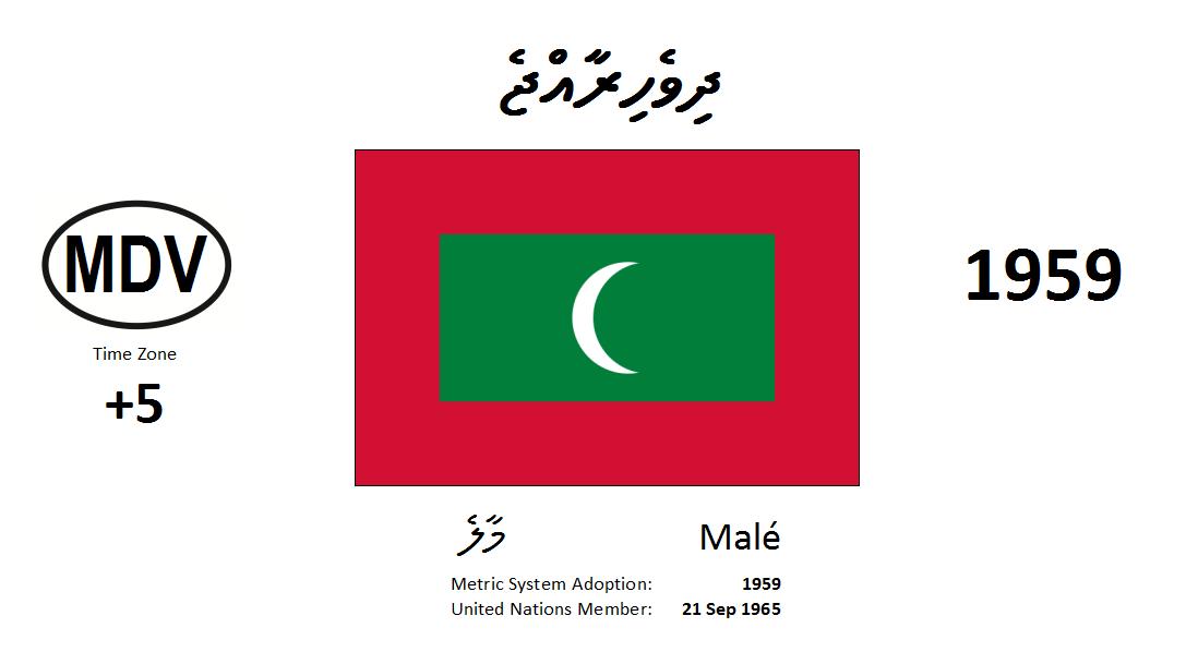 Flag 24 MDV Maldives