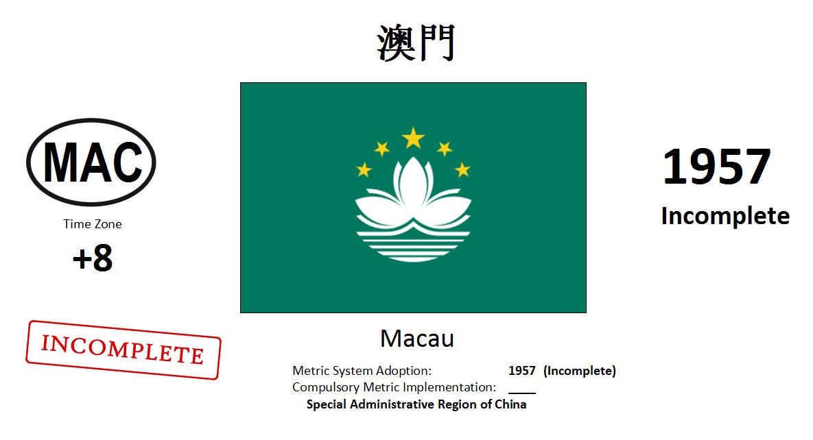 Flag 29 MAC Macau