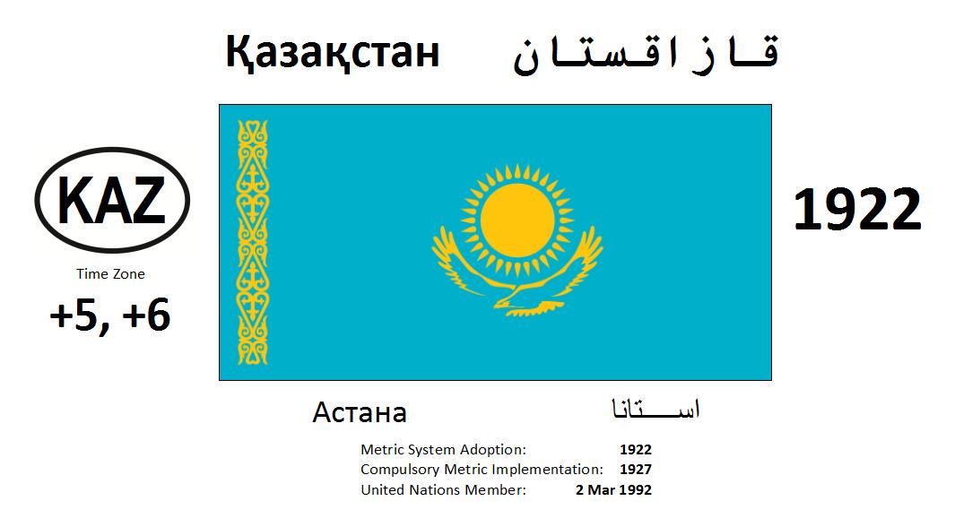 Flag 8 KAZ Kazakhstan