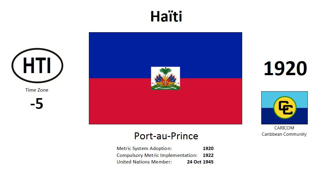Flag 87 HTI Haiti