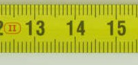 Tape Measure is 3 meters long; metal measuring blade; plastic case; metal belt clip; metric only.