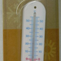 Thermometer GPI Blanc; Celsius only