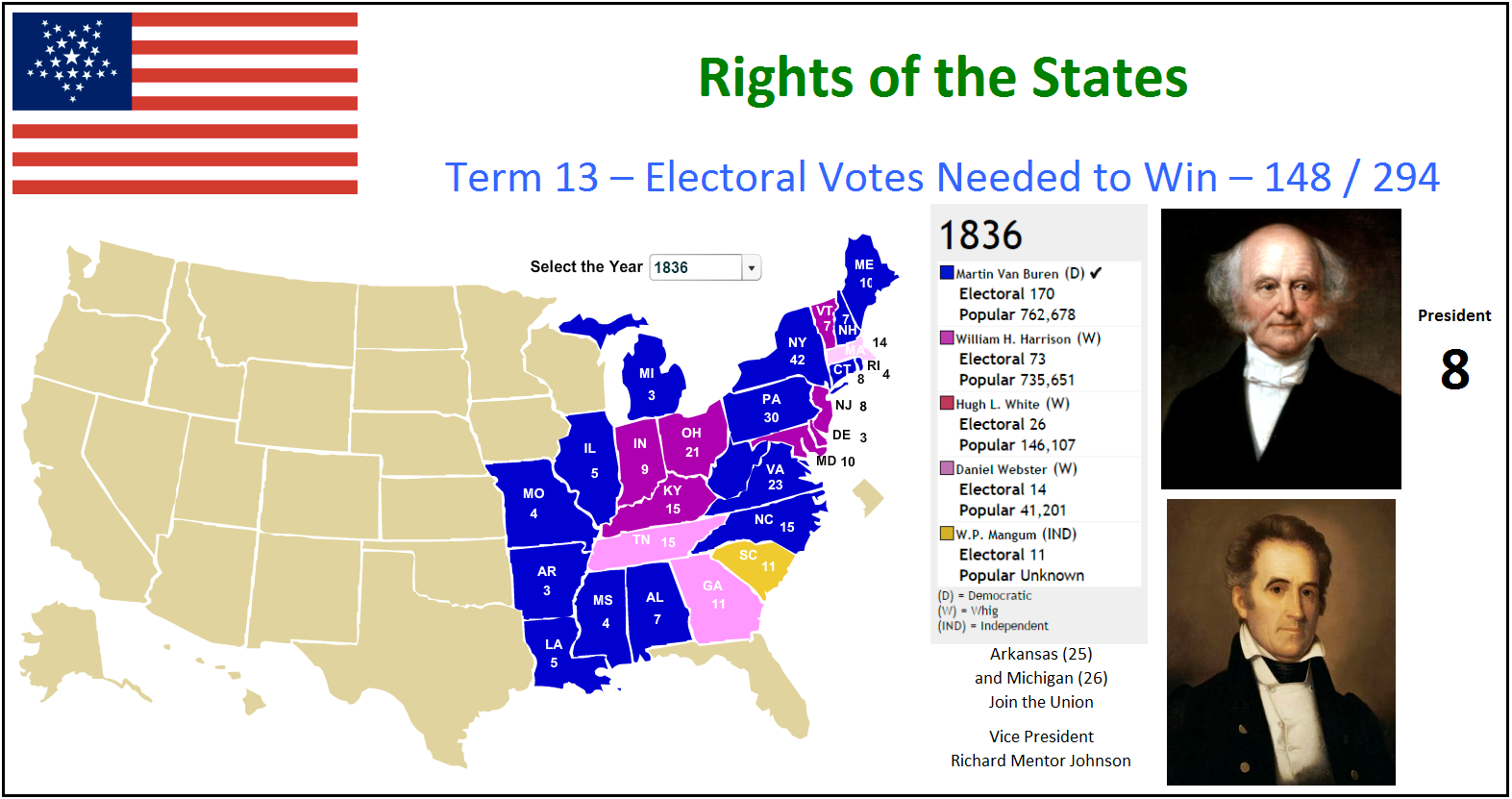 Indian Removal Act Metric Pioneer | Unite...