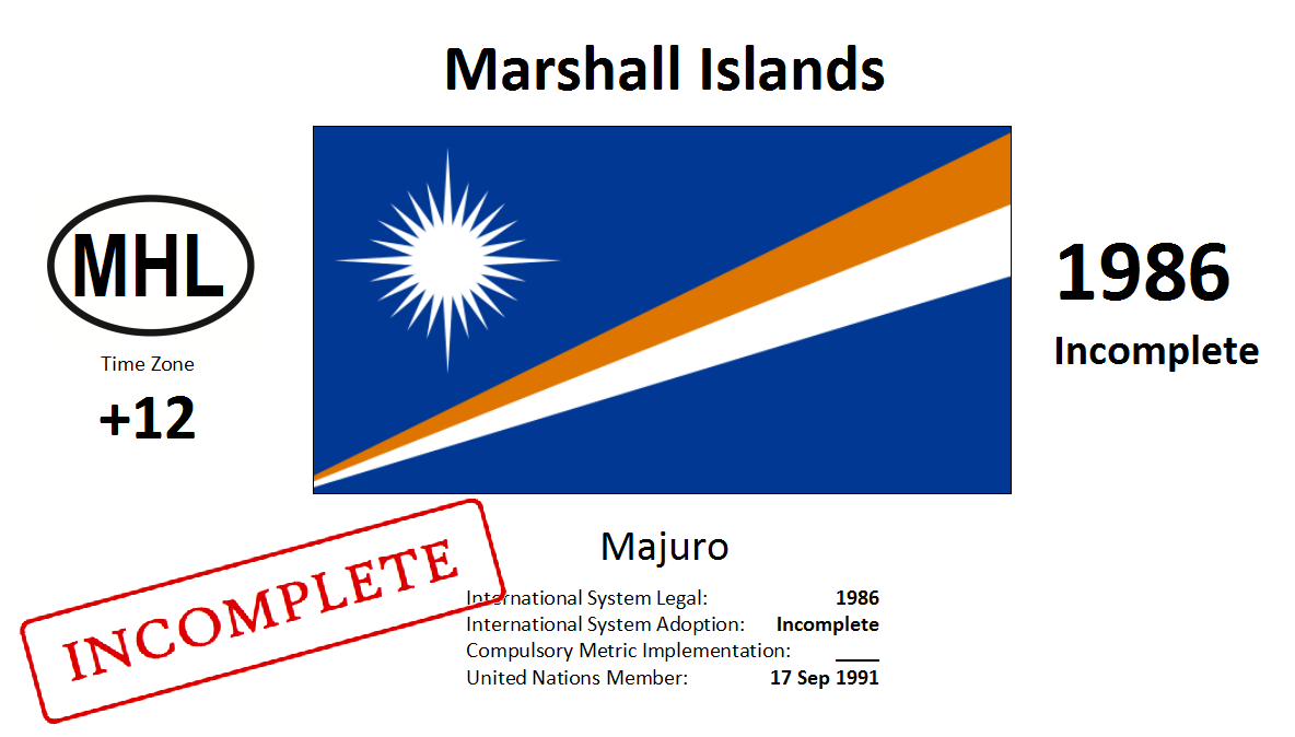 1 MHL Marshall Islands
