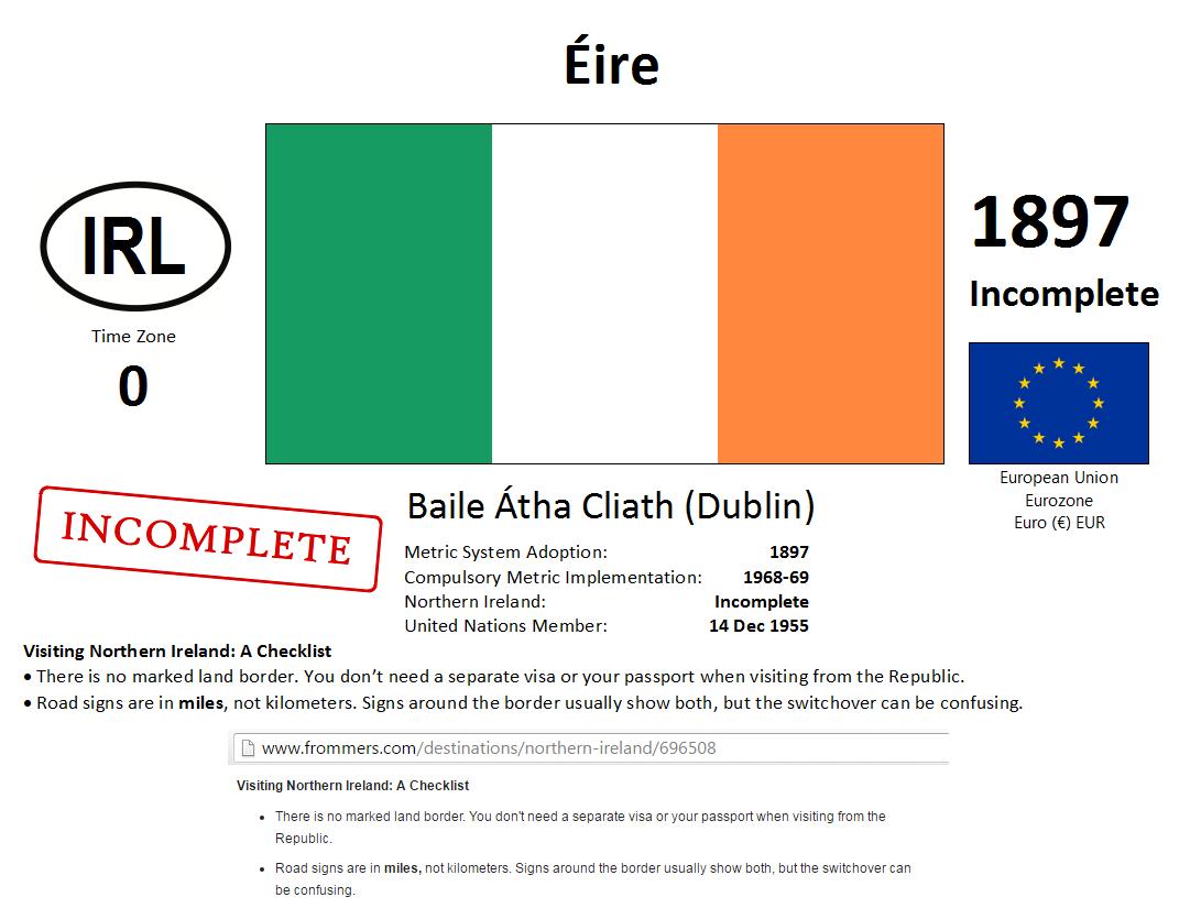 185 IRL Ireland