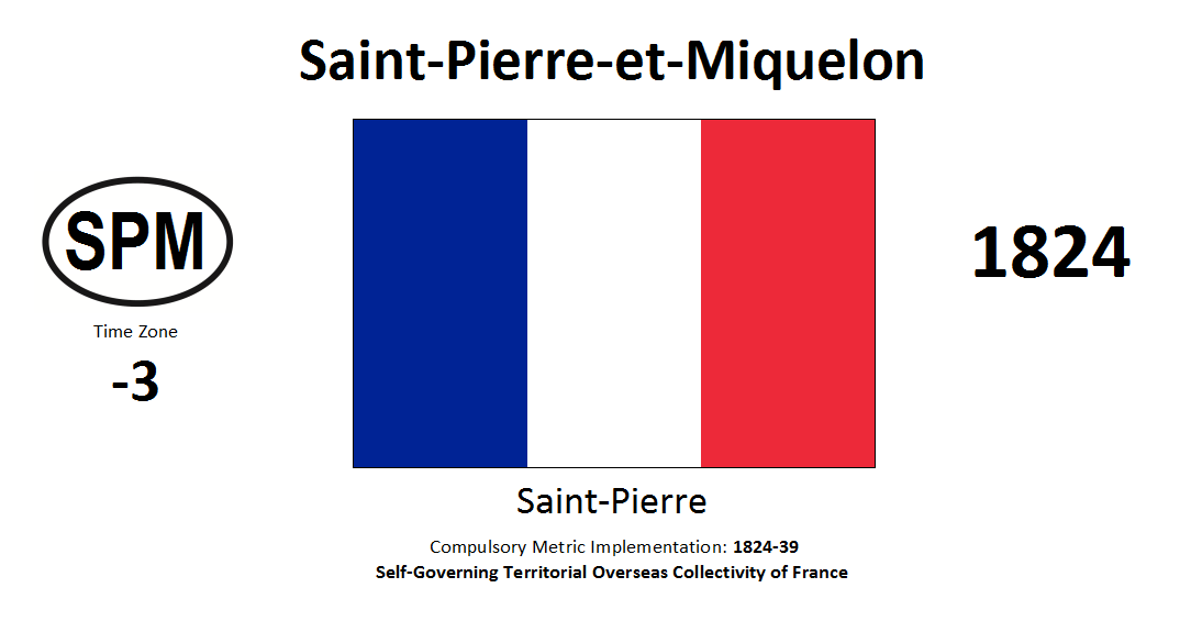 192 SPM Saint Pierre and Miquelon [FRA]