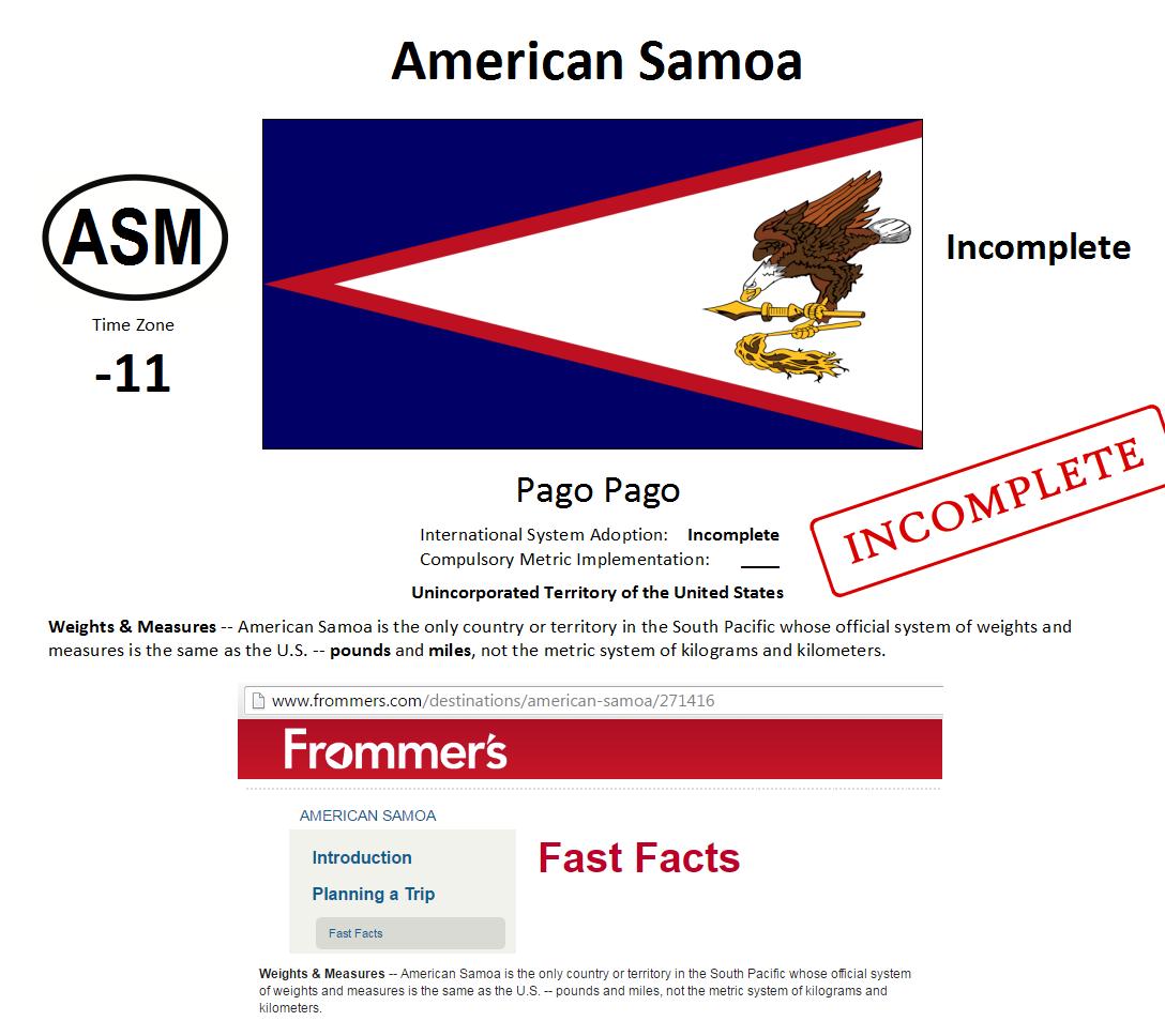 250 ASM American Samoa [USA]
