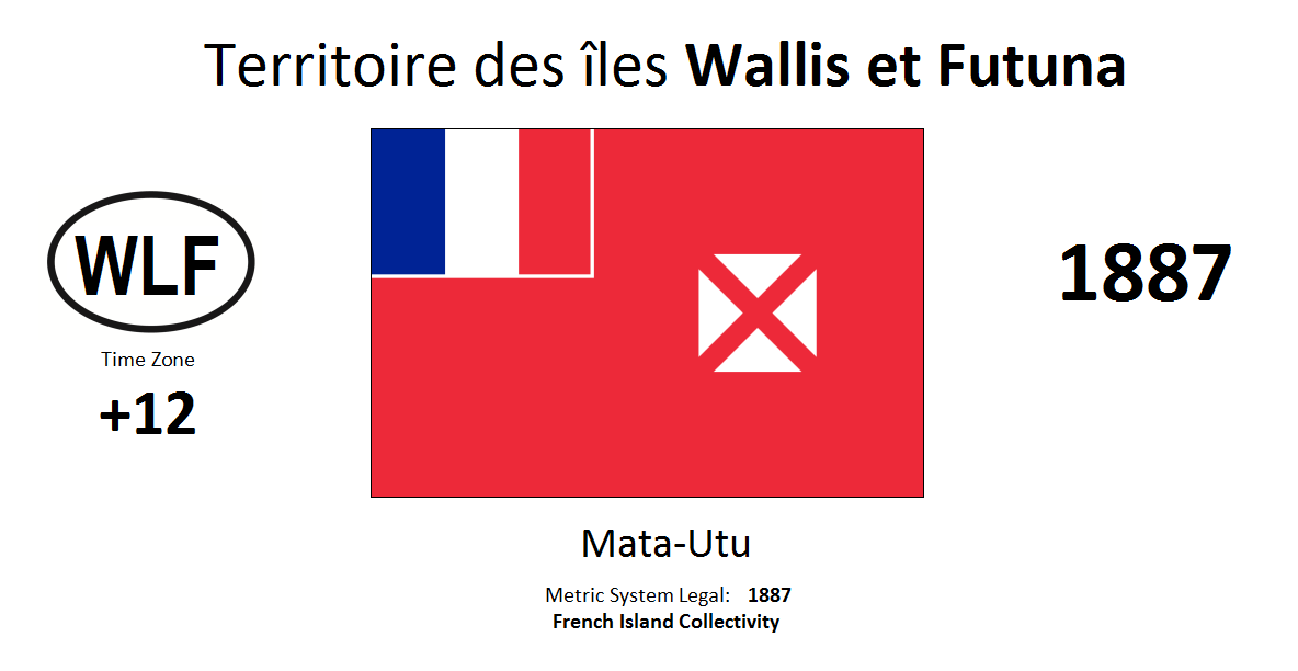 5 WLF Wallis and Futuna [FRA]