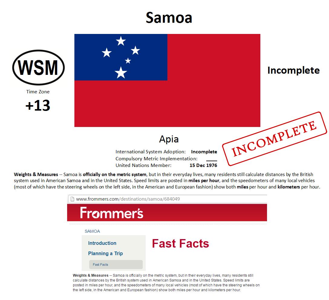 6 WSM Samoa