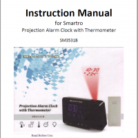 Instructional Manual Smartro SM3531B