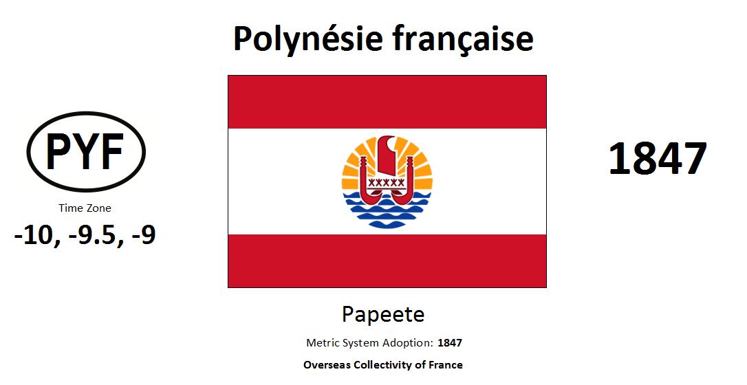 Flag 105 PYF French Polynesia [FRA]