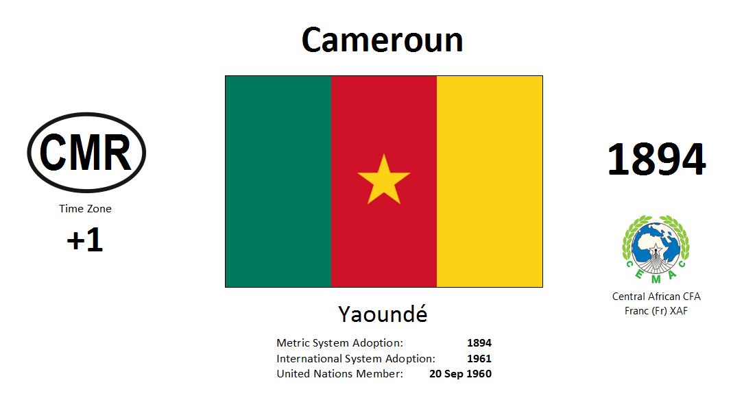 Flag 115 CMR Cameroon