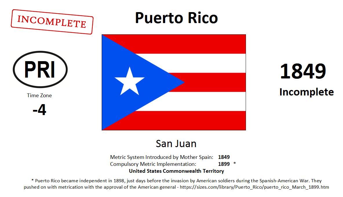 Flag 164 PRI Puerto Rico [USA]