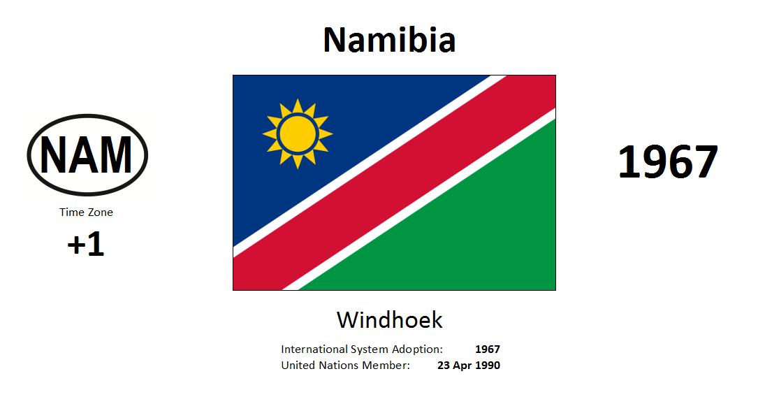 Flag 175 NAM Namibia