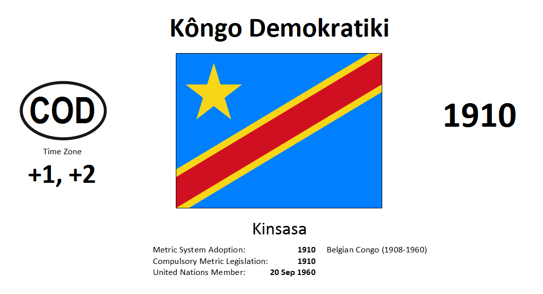 Flag 179 COD Democratic Republic of the Congo