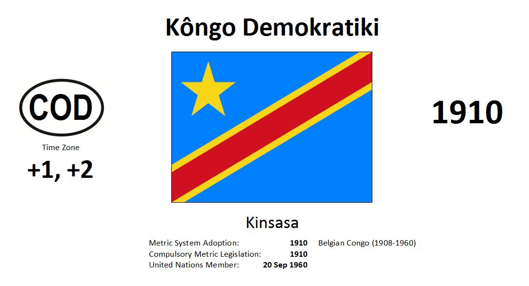 Flag 179 COD Democratic Republic of the Congo
