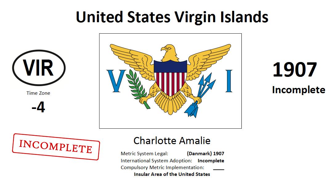 Flag 221 VIR United States Virgin Islands