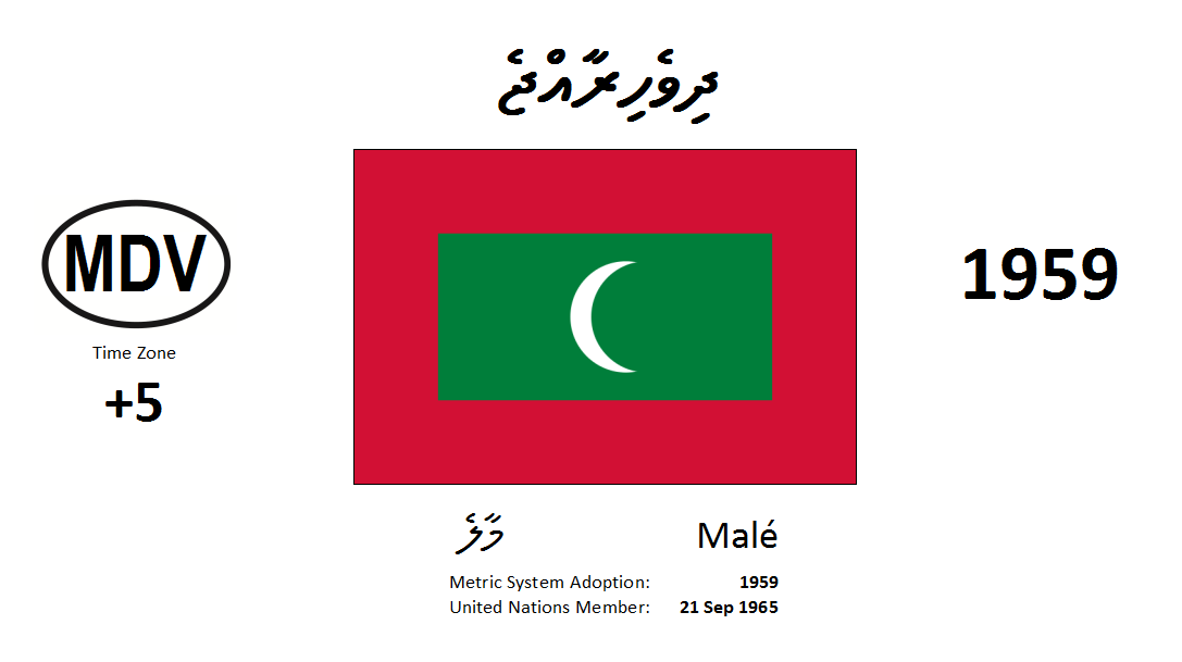 Flag 24 MDV Maldives