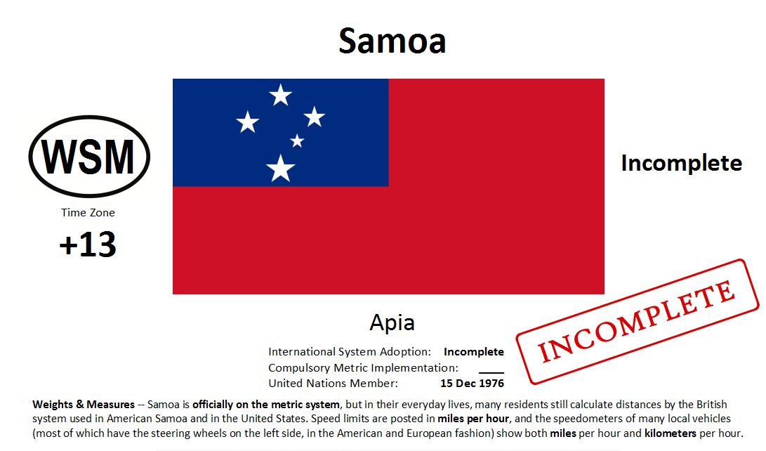 Flag 27 WSM Samoa