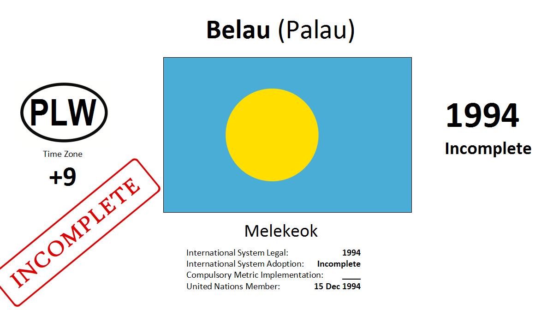 Flag 3 PLW Palau