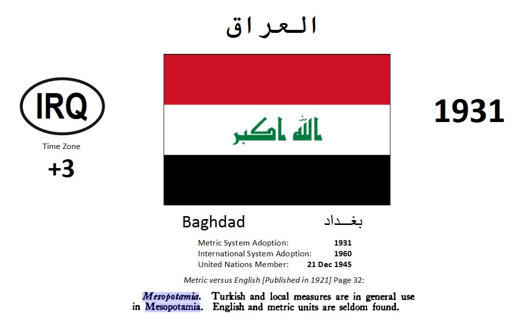 Flag 57 IRQ Iraq