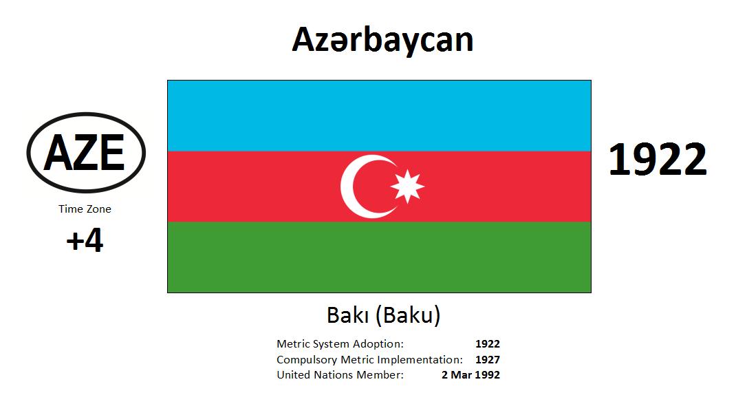 Flag 60 AZE Azerbaijan