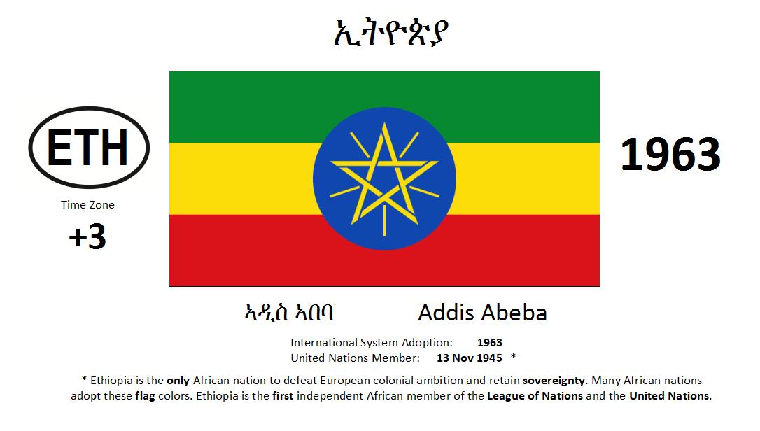 Flag 65 ETH Ethiopia